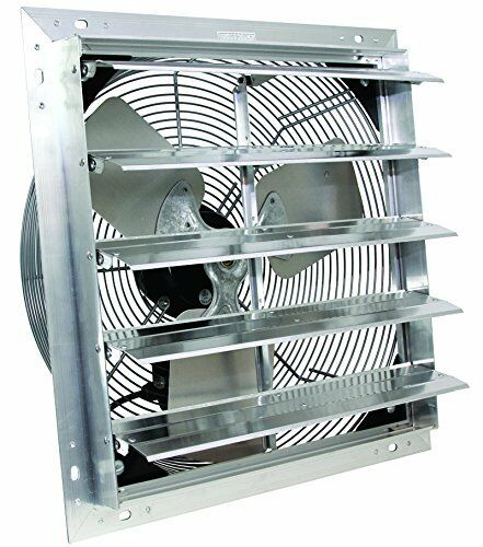 """24"""" VES Shutter Exhaust Fan, Box Fan, with 9 Foot Cord 3 Speed - NEW IN BOX"""