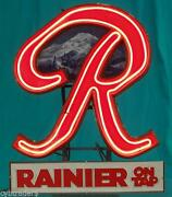 Rainier Beer Sign