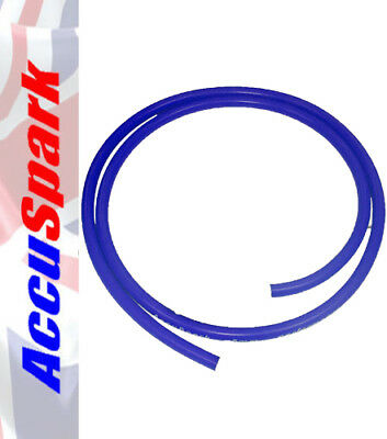 Genuine AccuSpark 8mm BLUE Silicone Carbon Core Ignition HT Lead HT Wire 1 Meter