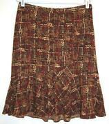 Ann Taylor Loft Brown Skirt