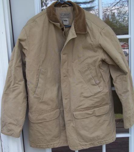 Llbean Mens Barn Coats Ebay