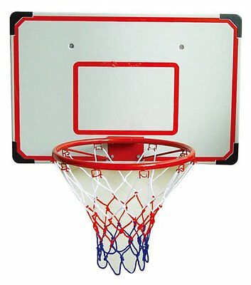 Indoor outdoor basketball backboard junior slam xl hoop for Basketball hoop inside garage