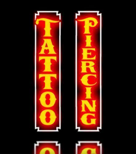 Tattoo Led Sign Ebay