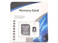 32 GB SD card class 10 with adaptor