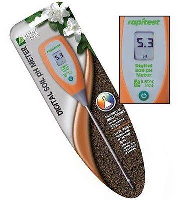 Luster Leaf 1845 Rapitest Digital Soil pH Acidity/Alkalinity Meter Tester