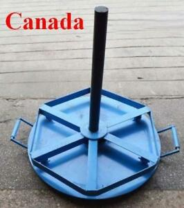 Wire Cable Spool Reel Stand Rolling Cart Layer Spindle 170556
