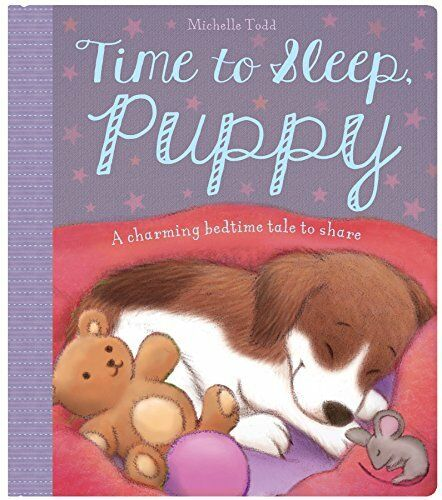 Baby Board Book - Puppy's Bedtime,Igloo Books Ltd