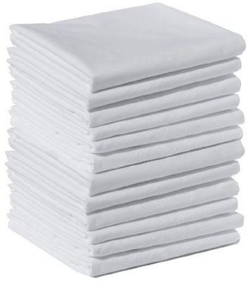 1 New 20X 40 T180 King Pillow Cases Hilton Hotel Brand Cotton Rich Premium