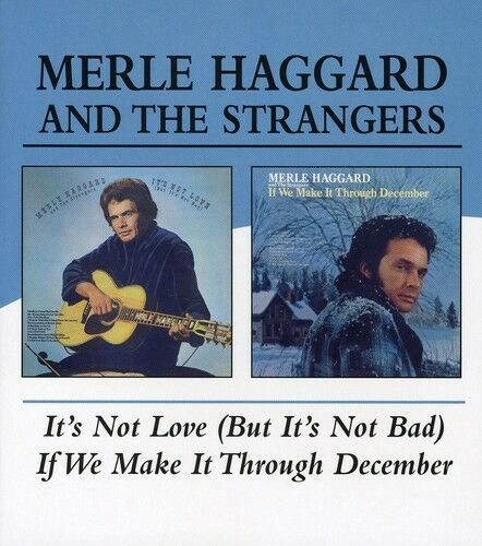 Merle Haggard - It's Not Love / If We Can Make It Through [New CD]