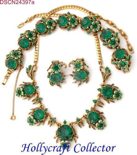 Green Costume Jewellery