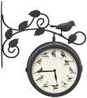 Birds Metal Wall Clocks