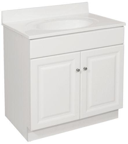 Ebay Used Bathroom Vanity: 24 White Bathroom Vanity
