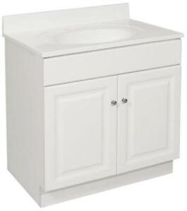 24 White Bathroom Vanity