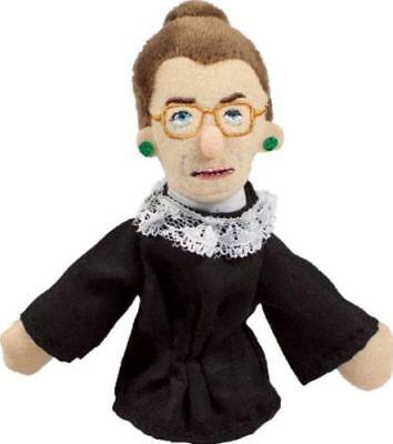 Ginsburg Ruth Bader Unemployed Philosophers Plush Finger Puppet  Magnetic