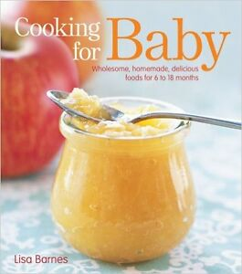 Cooking for Baby (up to 18 months)