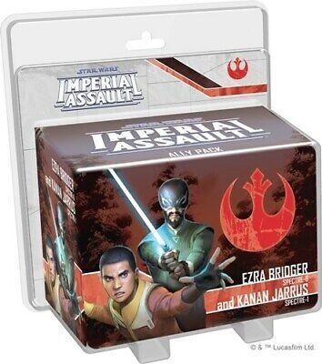 Star Wars Imperial Assault: Ezra Bridger And Kanan Jarrus Ally Pack