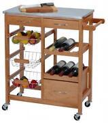 Küchenwagen Holz