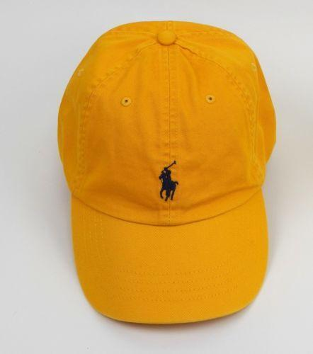 Yellow Polo Hat  d607548ab0c