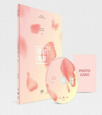 BTS-[IN THE MOOD FOR LOVE] PT.2 4th Mini Album Peach Ver CD+Book+Card+Tracking