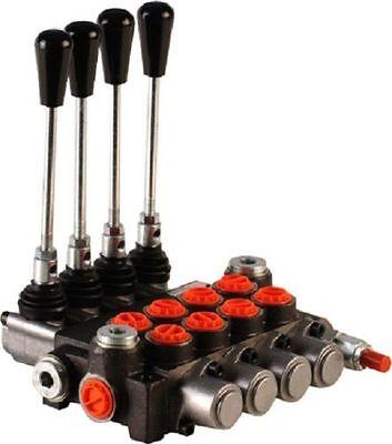 Hydraulikventil Handsteuerventil Handhebelventil 40L/min 4-fach für Dw Zylinder