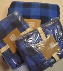 Queen Blue Checked Duvet Covers