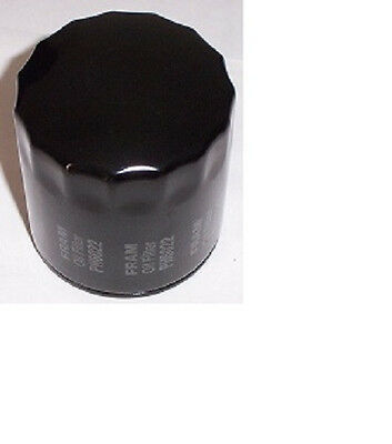 Harley Oil Filter Fram PH6022 Black Spin-On FL/FLT/FXR/FXST/XL/XLS/XLH/XLX New