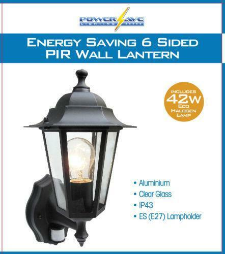 Security Light With Pir Ebay
