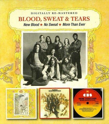 New Blood/No Sweat/More Than Ever - Blood Sweat & Tears (2012, CD NEU)2 DISC SET