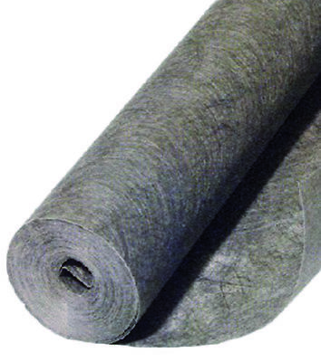 1.5m x 100m Roll Weed Control Black Mulch Weedblock Fabric Material