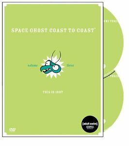 NEW - Space Ghost Coast to Coast - Volume Three