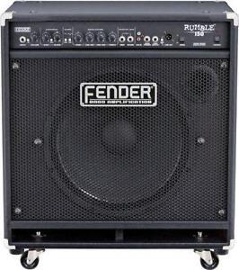 fender rumble bass amplifiers ebay. Black Bedroom Furniture Sets. Home Design Ideas