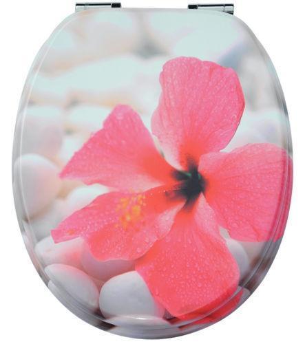 Wc sitz steine toilettensitze ebay for Wc deckel orchidee