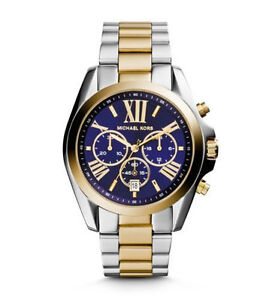 66ec1a2e608c Michael Kors Bradshaw Two-Tone Unisex Watch - MK5976 for sale online ...