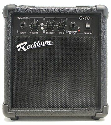 Rockburn Amp - 10 Watt Amplifier for Electric Guitar Works for Electronic Drums