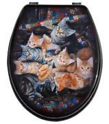 WC Sitz Katze