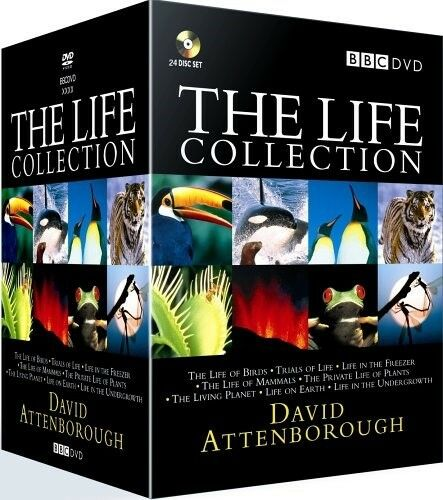 The LIFE COLLECTION DAVID ATTENBOROUGH DVD BOXSET 24 DISCS R4