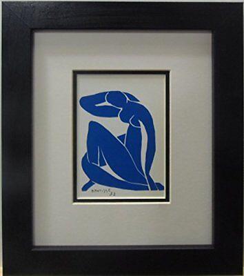 Henri Matisse (FRAMED Blue Nude by Henri Matisse 1952 Museum Master Fine Art Print )