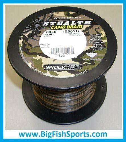Spiderwire Stealth Camo Braid Ebay