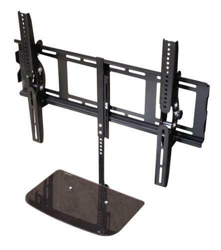 TV Wall Bracket With Shelves