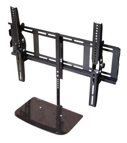 tv wall bracket with shelves ebay. Black Bedroom Furniture Sets. Home Design Ideas