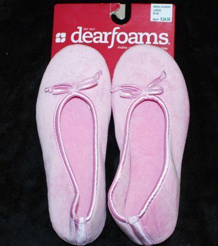 Dearfoam Slippers Ebay
