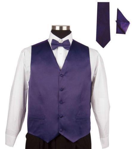 vest and bow tie ebay