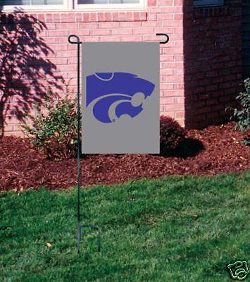 Kansas State Wildcats Embroidered Garden Window FLAG