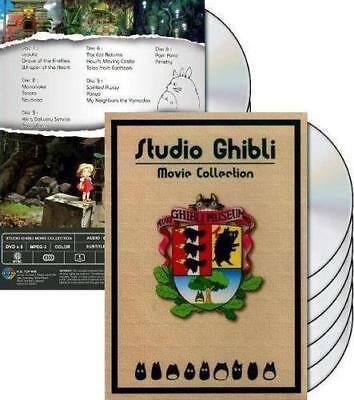 Studio Ghibli Collection 17 Movie Miyazaki Films Dvd Box Set English Audio  New