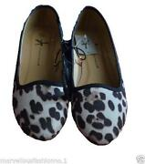 Leopard Print Dolly Shoes
