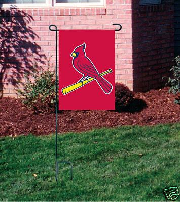 NEW St. Louis Cardinals Embroidered Garden Window FLAG](St Louis Cardinals Garden Flag)