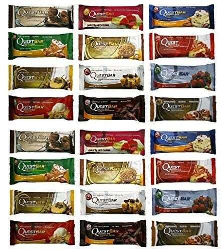 Quest Bars 12/Box 18 Flavors + Variety! **FREE Shipping**