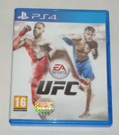 SONY PLAYSTATION PS4 GAME UFC EA SPORTS ULTIMATE FIGHTER CHAMPIONSHIP HOLOGRAMED