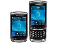 BLACKBERRY TORCH 9800 - Black - (UNLOCKED) Mobile smartphone –