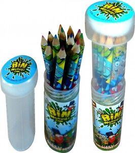 Bin-Weevils-Lapices-De-Colores-Regalo-Sin-Estrenar